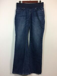 Gap 1969 Maternity Jeans Women Size 6 / 28 SEXY BOOT Medium Wash Blue Denim