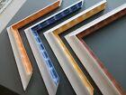 Cadre en bois moderne / 4 Couleurs / Encadrement sur mesure / Art cadre tableaux
