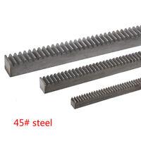 3Pcs 1.0Mod 10*10*1000mm Gear Rack 1.0 Module 45# Steel Heavy Duty Gear Rack