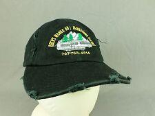 Keiths Mobile RV Home Service Hat Cap Camping Trailer Camper RV Adjustable Black