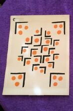 Sonia DeLaunay French Artist 1930 Lithograph Compositions Planche No. #29 Print