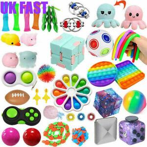 49Pack Fidget Toys Set Sensory Tools Bundle Stress Relief Hand Kids Adults Toy