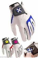 ASBRI JUNIOR ALL WEATHER GOLF GLOVE. NATIONAL FLAG BALL MARKER. ALL SIZES