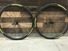 2015 Mavic Cosmic Carbone 40 Tubular Wheel Set