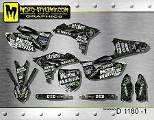 Yamaha YZf 250 2010 up to 2013 graphics decals kit Moto StyleMX