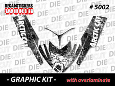 SLED GRAPHIC STICKER DECAL WRAP KIT ARCTIC M8 M7 M SERIES CROSSFIRE  06-11 5002