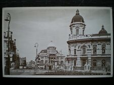 POSTCARD RP YORKSHIRE HULL CITY HALL & DOCK OFFICES
