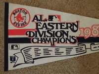 1988 Boston Red Sox AL Eastern Division Champions Full Size 30 Inch Pennant