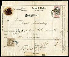 ÖSTERREICH 1867 41 Fälschung auf BELEG(64003c
