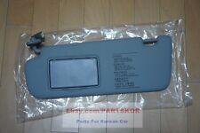 2006-2008 HYUNDAI SONATA SUN VISOR DRIVER SIDE GRAY GENUINE (Trim code QS)