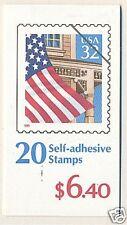 USA 1996 PORCH FLAG 32  CENT X 20 BOOKLET MNH