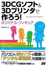How to make original Figure by 3DCG Software & 3D Printer