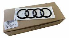 Per Audi A1 A3 A4 A5 A6 A7 Q2 Q3 Q5 Q7 Originale Audi Black Edition Anello Nero
