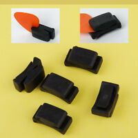 5pcs Rubber Guitar Headstock Pick Plectrum Holder Case Guitar Bass Ukelele Clip