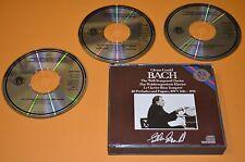 Glenn Gould-Bach il temperato pianoforte/CBS 1986/3cd BOX 1st. Press