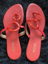 MICHAEL KORS Women's Thong Orange Sandals. New without tag.