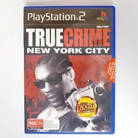 True Crime New York City - Sony Playstation 2 PS2 - Free Postage + Manual