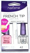 NEW Nailene Professional French Tip Pen Kit 42 Tip Guides French Manicure Polish