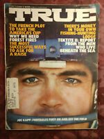 TRUE September 1970 NFL Football Joe Kapp David Nevin Project Tektite