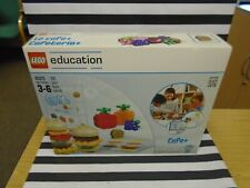 LEGO DUPLO EDUCATION CAFE+ 45013 LARGE 131PC SET! BRAND NEW SEALED! RARE TO FIND
