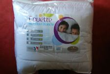 COUETTE TRÈS CHAUDE 240/220  750gr m2  microfibres Made in France EXTRAORDINAIRE