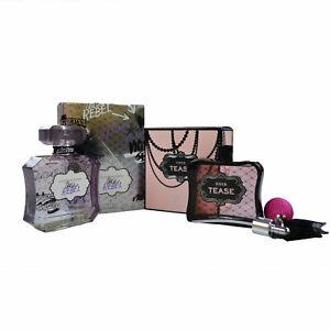Victoria's Secret Perfume Noir Tease Rebel 3.4 Gift Set of 2 Eau de Parfum Spray