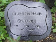 grandchildren ornament stepping stone mould see 5000 molds in my ebay store