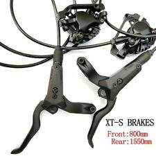 Bicycle Hydraulic Disc Brake Left Front Right Rear 800mm /1550mm AM FR Brakes