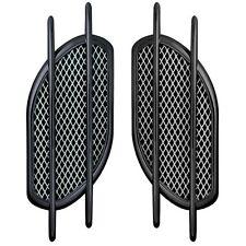 Prese aria con griglia in alluminio Idonee cofano fiancate adesive NERO O CROMO