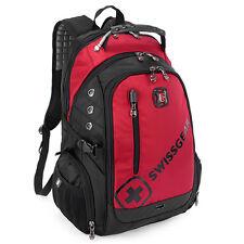 Men Women Wateproof Backpack Laptop Computer Notebook School Travel Bag Red