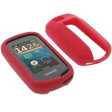 Tasche für Garmin Oregon 650 / 650t / 750 / 750t Schutz Hülle Silikon Gummi Rot