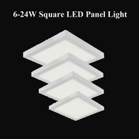 6-24W Square LED Panel Light Ceiling Down Lights Surface Mount 3 Colour US STOCK