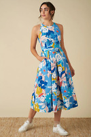 Emily and Fin Alyssa Dress Blue Asilah Floral PRE-ORDER
