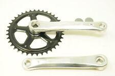 38 DENTI PARACATENA Cotterless con pedivelle in lega 170mm Set Singolo Bici chainwheel
