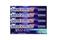 4x blend-a-med 3D WHITE 3 in1 Zahnpasta 75 ml Soft Mint