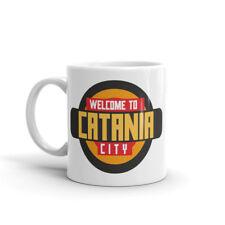 Cool Catania Sicilia Taza-Travel Gift Etna volcán Castello año #10349