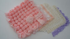 Tasche + 8 SpitzenTaschentücher Taschentuchtasche Aufbewahrung 50er Vintage Kult