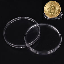 10x Coins Plastic Boxes 40mm Protect Holder Box Case Storage Collecticev