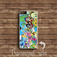 ADVENTURE TIME FINN DOG JAKE CHARACTER PHONE CASE COVER IPHONE AND SAMSUNG MODEL