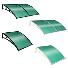 Outdoor Front Door Window Rain Cover Awnings Canopy Cover Snow Rain Protector