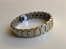Magnetic therapy, Stainless Steel Bracelet Pain Relief, Energy, Stamina, Ions