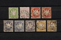 (YYAU 336) Bayern 1888 TYPE USED Mich 54 - 59 Bavaria Germany