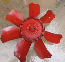 """OEM GM Chevy 1970's 60's 7 Blade 18-1/2"""" Cooling Fan and clutch corvette camaro"""