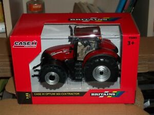 BRITAINS 43136A1 CASE IH OPTUM 300 CVX TRACTOR        NEW  BOXED