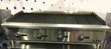 """NEW 48"""" LAVA ROCK CHAR BROILER COMMERCIAL RESTAURANT DUTY NATURAL OR LP GAS"""