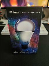 ilumi A19 LED smartbulb 800 lumens 60W color changing