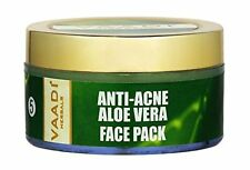 Vaadi Herbals Anti Acne Aloe Vera Face Pack Enriched Oil Reduce Dark Spots 70GM