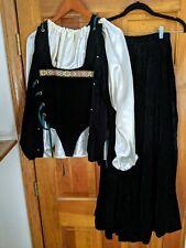 Medieval Renaissance Celtic Reenactment Costume Size Sm/Md