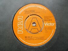 "R & J Stone We Do It/We Love Each Other Uk 7"" Single Ex Cond"