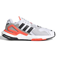 Adidas Originals Day Jogger Mens Boost Casual Shoes - White Orange - Size 9.5